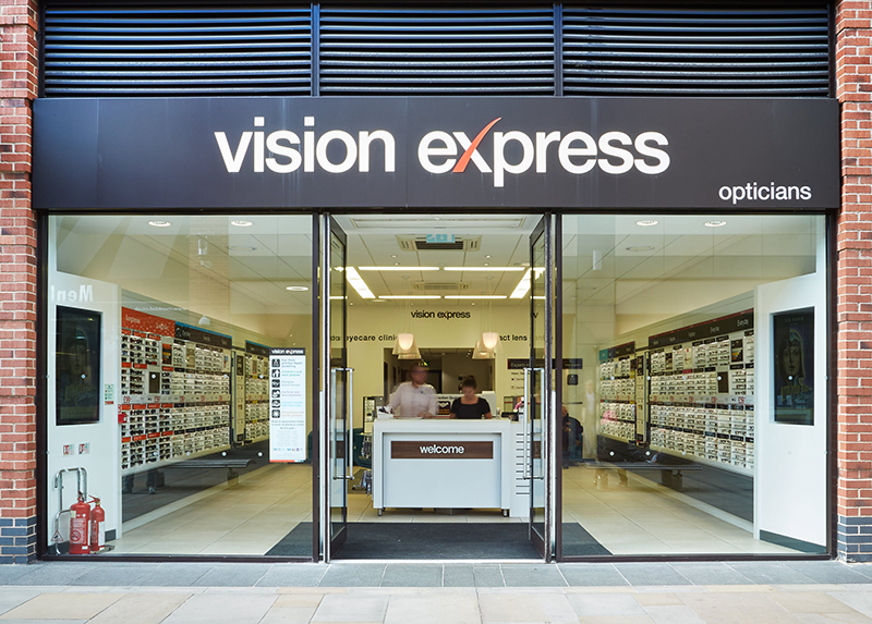 Vision express online shopping